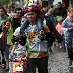 The 25th Lattelecom Riga marathon - Ivars Blažēvičs (20211), Madara Blažēvičs (20213)