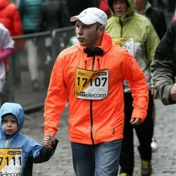 The 25th Lattelecom Riga marathon - Baiba Krūmiņa (17107), Stīvens Kuzmenko (17111)