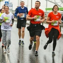 The 25th Lattelecom Riga marathon - Raimondas Jablonskis (692), Ansis Gornavs (3705), Evija Grīnmane (6244)