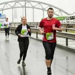 The 25th Lattelecom Riga marathon - Anita Zagorska (6032), Agnese Gaile (6609)