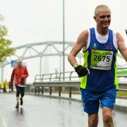 The 25th Lattelecom Riga marathon - Ernie Barker (2675)
