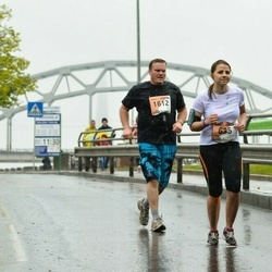 The 25th Lattelecom Riga marathon - Jana Višņevska (635), Aleksejs Smirnovs (1612)