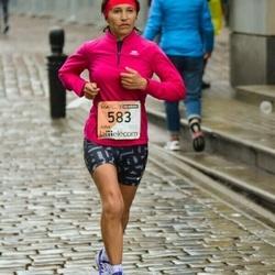 The 25th Lattelecom Riga marathon - Elena Chelambitskaya (583)