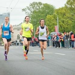 The 25th Lattelecom Riga marathon - Alessandro Claut (99), Kristaps Bērziņš (1700), Armands Tālums (6656)