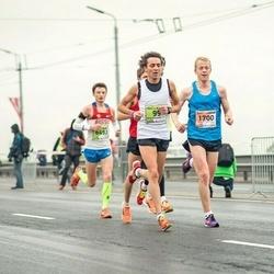 The 25th Lattelecom Riga marathon - Alessandro Claut (99), Kristaps Bērziņš (1700), Yury Vinogradov (6493)