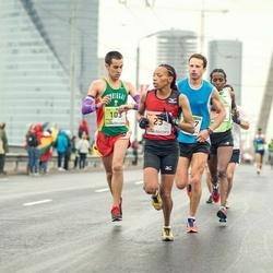 The 25th Lattelecom Riga marathon - Ruth Wanjiru Kuria (23), Flavio Nunes (103)