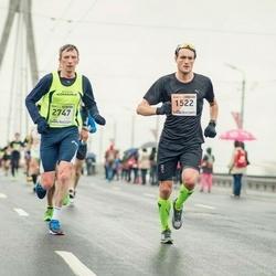 The 25th Lattelecom Riga marathon - Jo Kogstad Ringheim (1522), Aigars Rublis (2747)