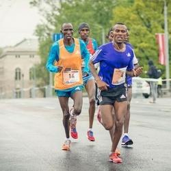 The 25th Lattelecom Riga marathon - Abraraw Misganaw Tegegne (4), Mariko Kiplagat Kipchumba (14)