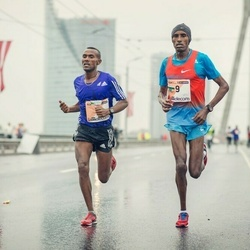 The 25th Lattelecom Riga marathon - Abraraw Misganaw Tegegne (4), Haile Tolossa Bekuma (9)