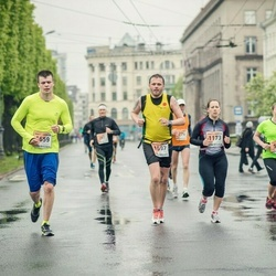 The 25th Lattelecom Riga marathon - Sanita Vītola (1173), Audrius Jaraminas (1597), Alvis Vītols (1659)