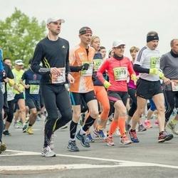 The 25th Lattelecom Riga marathon - Algimantas Janusauskas (362), Edgars Goba (414), Alex Beernaerd (461), Ljudmila Getman (3819), Vladimir Kotsenkov (4215)