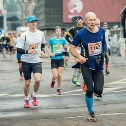 The 25th Lattelecom Riga marathon - Agris Stūris (449), Vaidas Tamošauskas (1145)