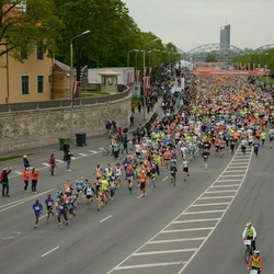 The 25th Lattelecom Riga marathon