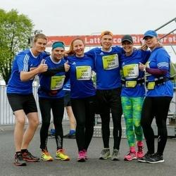 The 26th Lattelecom Riga Marathon - Aino Hintsala (3032), Liisa Kinnunen (3034), Paavo Huuskonen (3036), Risto Nieminen (3037)