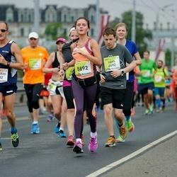 The 26th Lattelecom Riga Marathon - Vincenzo Alfano (1532), Dāvis Liberts (4692), Santa Dzenīte (5892)