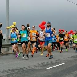 The 26th Lattelecom Riga Marathon - Reinis Tops (1576), Edgars Rencis (1615), Jonas Priedininkas (3749)