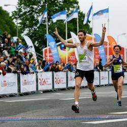 The 26th Lattelecom Riga Marathon - Maryna Novik (2800), Jānis Škutāns (6532)