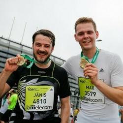 The 26th Lattelecom Riga Marathon - Max Meyer Zu Schwabedissen (3579), Jānis Bunkovskis (4810)