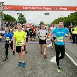 The 26th Lattelecom Riga Marathon - Artis Kubliņš (5318), Tomas Dirzininkas (5380), Michael Schmidt (5478), Romāns Giruckis (6098)