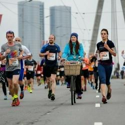 The 26th Lattelecom Riga Marathon - Edgars Melkins (1156), Andrei King (1900), Kristīne Ozola (1949)