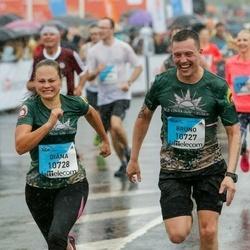 The 26th Lattelecom Riga Marathon - Bruno Āriņš (10727), Diāna Arāja (10728)