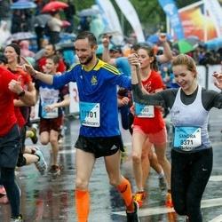 The 26th Lattelecom Riga Marathon - Sandra Bruņeniece (8371), Reinis Tops (11701)