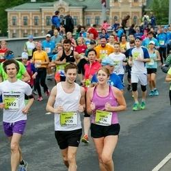 The 26th Lattelecom Riga Marathon - Carla Shelton (4134), James Harvey (4135)