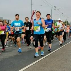 The 26th Lattelecom Riga Marathon - Andris Vindels (1411), Irena Šostak (3086)