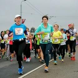 The 26th Lattelecom Riga Marathon - Sirpa Kähkönen (981), Dimphy Aarts (4077)