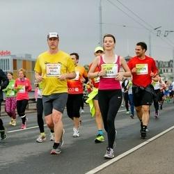 The 26th Lattelecom Riga Marathon - Volker Waffner (1064), Ilze Zeltiņa (4454), Endijs Bērziņš (5929)
