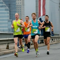 The 26th Lattelecom Riga Marathon - Edgars Cimermanis (97), Maurycy Oleksiewicz (104), Linas Šalkauskas (2700), Yoshi Groen (6565)