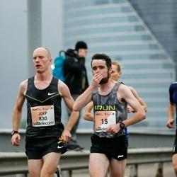 The 26th Lattelecom Riga Marathon - Robert Corbally (15), Joep Kluwen (830), Rolands Pužulis (2772)