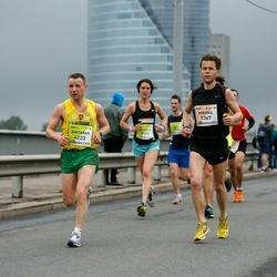 The 26th Lattelecom Riga Marathon - Mikhail Barchenkov (1367), Gintaras Andruska (4223)