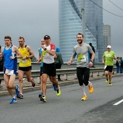 The 26th Lattelecom Riga Marathon - Teemu Lamminmäki (69), Artūrs Ločmelis (2533), Artūrs Blūmiņš (4846)