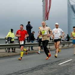 The 26th Lattelecom Riga Marathon - Jānis Teteris (1242), Arno Šķipars (2599)