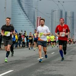 The 26th Lattelecom Riga Marathon - Ritvars Kalniņš (1629), Ģirts Bulāns (3915), Anžijs Viļčevskis (6251)