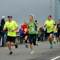 The 26th Lattelecom Riga Marathon - Ingrid Petnuchova (3849), Kārlis Meņģelis (6381)