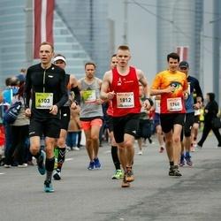 The 26th Lattelecom Riga Marathon - Uldis Nipers (1760), Vilius Dicmonas (1812), Evaldas Morkūnas (6103)