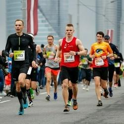 The 26th Lattelecom Riga Marathon - Vilius Dicmonas (1812), Evaldas Morkūnas (6103)