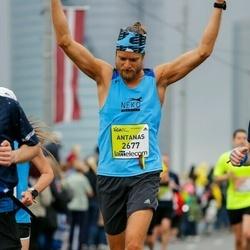 The 26th Lattelecom Riga Marathon - Antanas Steponavičius (2677)