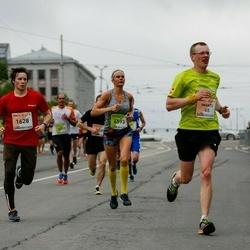 The 26th Lattelecom Riga Marathon - Imants Kaldre (65), Jurijs Šilins (1628), Zanda Zariņa-Rešetina (6593)