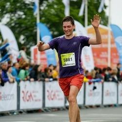 The 26th Lattelecom Riga Marathon - Alexander Oksenuk (5881)
