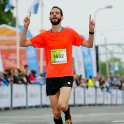 The 26th Lattelecom Riga Marathon - Moritz Schneider (5502)