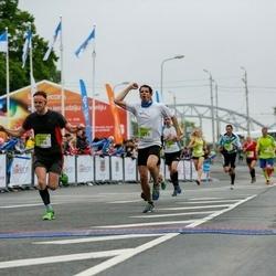 The 26th Lattelecom Riga Marathon - Ģirts Bulāns (3915), Markus Breithut (6271)