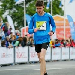 The 26th Lattelecom Riga Marathon - Andrejs Horošavins (3417)