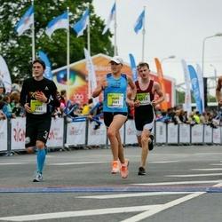 The 26th Lattelecom Riga Marathon - Antanas Steponavičius (2677), Indrė Staražinskaitė (2681), Wolf Wedel (2702)