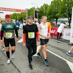 The 26th Lattelecom Riga Marathon - Jānis Beseris (3667), Mareks Runts (3935)