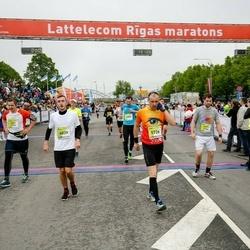 The 26th Lattelecom Riga Marathon - Dāvis Puķītis (3039), Kolosovs Deniss (5726)