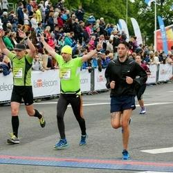The 26th Lattelecom Riga Marathon - Mihails Janins (3433), Andrejs Dementjevs (3911)