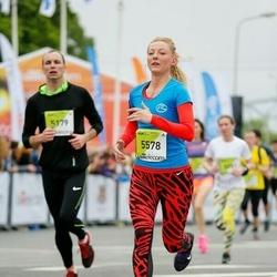The 26th Lattelecom Riga Marathon - Konstantīns Lukoško (5179), Sintija Arbidāne (5578)